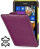 StilGut exklusive Ledertasche Ultraslim für Nokia Lumia