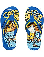 SOLETHREADS Gone Surfing | Uber Cool | Fun | Colourful | Hip | Flip Flops for Kids