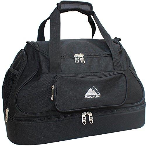 Cox Swain Sporttasche Training mit Bodenfach + Schultergurt Fußballtasche Fitnesstasche