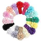 #8: 3 Pieces Pack Multi-Color Floral Baby Bands Designer Edition (Premium Quality)