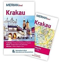 Krakau: MERIAN live! - mit Kartenatlas im Buch und Extra-Karte zum Herausnehmen