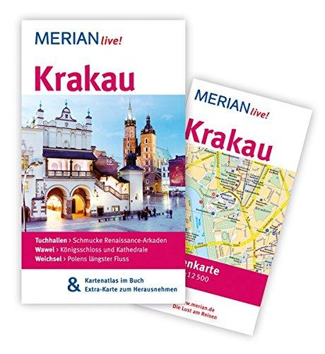 MERIAN live! Reiseführer Krakau: MERIAN live! - mit Kartenatlas im Buch und Extra-Karte zum Herausnehmen