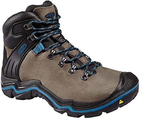 Keen Madeira Peak Mid WP - Chaussures de randonnée - marron/bleu 2016 chaussures de montagne Magnet/Ink Blue
