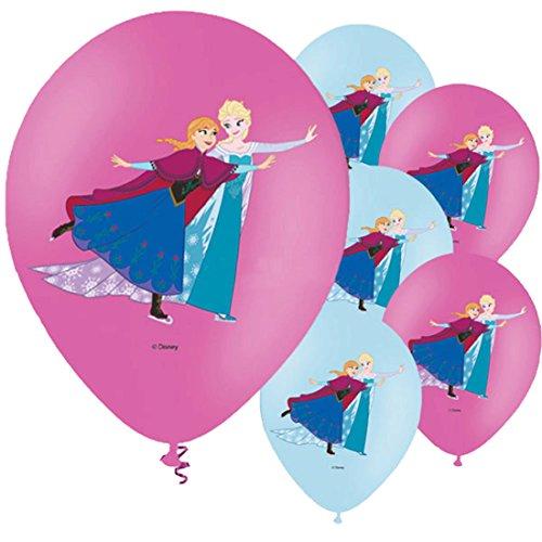 Vian Lundgaard - Dekoration Frozen Ballon Eiskönigin Anna und Elsa, Mehrfarbig (Olaf Tanzen Und Singen)