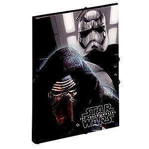 Star Wars- Carpeta A4 con Gomas (Montichelvo 53205) 5