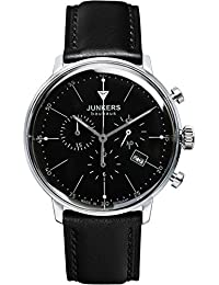 Junkers Herren-Armbanduhr Chronograph Quarz Edelstahl 60882