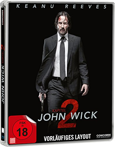John Wick: Kapitel 2 Steelbook [Blu-ray] [Limited Edition]
