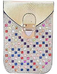 Kézitáska Women Top Handle Satchel Handbags Shoulder Bag Top Purse Messenger Tote Bag Travel Duffle Bag - B077CQTK3Q