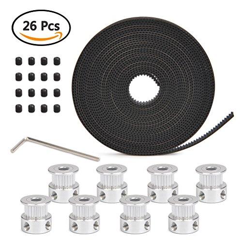 Yotino-8-pcs-5-mm-20-teeth-Minutage-Poulie-de-roue-5-m-Gt2-Courroie-dente-hexagonal-en-forme-de-L-Cl-pour-imprimante-3d-avec-2-pcs-Vis-sans-tte-dans-chaque-Poulie
