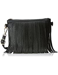 Lino Perros Women's Sling Bag (Black)