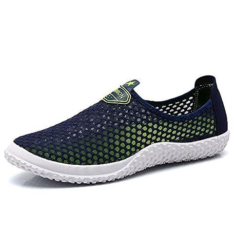 Oriseky Femmes Hommes Aqua Chaussures Maille Glissement Float Sandales Chaussures de Plein Air Chaussures de