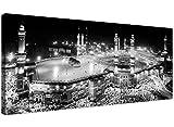 Große Islamische schwarz und weiß Leinwand Art Prints–Muslim Haddsch AL-Kaʿba Wallfahrt–Mekka Art Wand