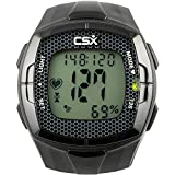 CSX Heart Rate Monitor Watch with Chest Strap, HRM C536X