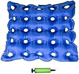 GPF Luft Aufblasbares Sitzkissen Für Rollstuhl, Bürostuhl Und Auto - Steißbein Sitzkissen - Rückenstütze, Steißbein Und Ischias Schmerzlinderung