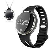 Smart Armband Uhr - Kingwo SmartWatch IP67 Wasserdichte Bluetooth Smart Armbanduhr Sport Gesunde Pedometer Sleep Monitor (Schwarz)