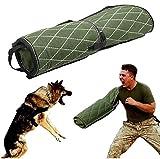 Dan Dog Training Bite Bras Manches pour Jeunes Travailleurs Chiens Berger Allemand Malinois Chien de Travail Vert K9 Rottweiler