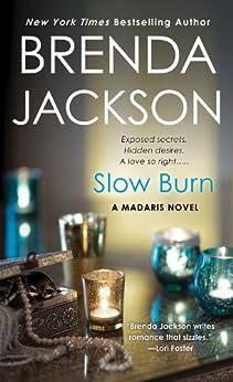 Slow Burn (Madaris Family Novels Book 14) by [Jackson, Brenda]