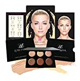 Luxe Elixir Cream Contour Kit - Premium Highlighting and Contouring Palette with Smooth, Pigmented Cream- Step-by-Step Contour Guide Included
