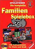 Spielefieber, CD-ROMs : Die komplette Familien-Spielbox, 3 CD-ROMs Für Windows 95/98/Me. 150...