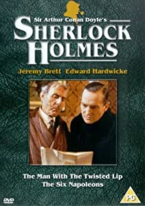 Sherlock Holmes: The Man With The Twisted Lip/The Six Napoleons [DVD]