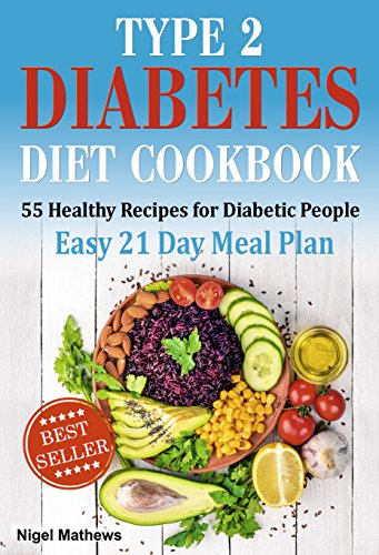 Type 2 Diabetes Diet Cookbook Meal Plan 55 Healthy Recipes For Diabetic People With An Easy 21 Day Meal Plan Type Diabetes 2 Diabetes Type 2