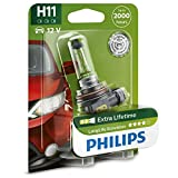 Philips Longlife Ecovision H11 Upgrade Car Headlight Bulbs (Single)