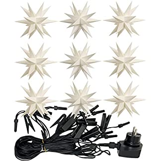 3D-LED-9er-Sternenkette-fr-innen-auen-Stern-Adventsstern-Weihnachtsstern-Neuheit-2017