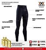 X-Bionic Invent 4.0, Pantaloni Funzionali Donna, Black/Charcoal, XS