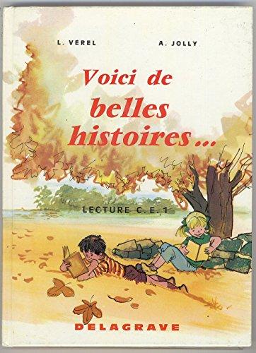 Belles histoires, CE1