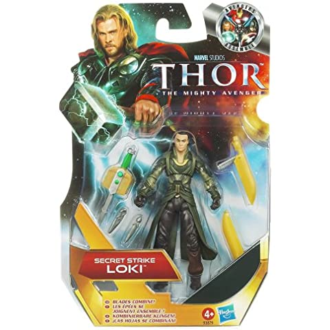 Thor: The Mighty Avenger Action Figure #04 Secret Strike Loki 3.75 Inch by Thor