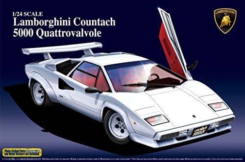 Jour de l'an 1/24 Lamborghini Countach 5000QV | Caracteristique