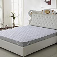 This white quilted waterproof mattress protector by home originals (72x78) inches is perfect for your king size bed mattresses. It extends the life of your mattress by 10 times. It avoids bed sheet from getting crumpled. Prevents bed bugs and dust mi...