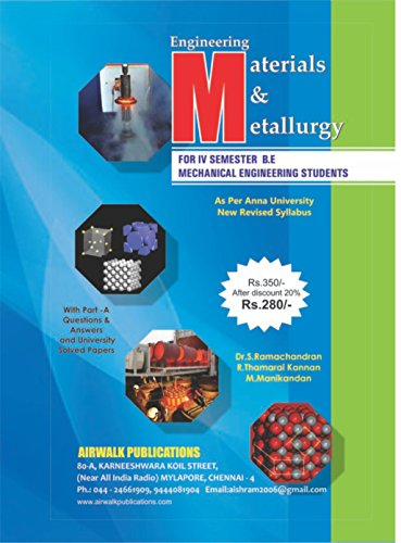 Engineering Materials And Metallurgy (English Edition) (Abs-slip)