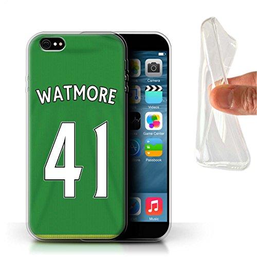 Offiziell Sunderland AFC Hülle / Gel TPU Case für Apple iPhone 6+/Plus 5.5 / Mannone Muster / SAFC Trikot Away 15/16 Kollektion Watmore
