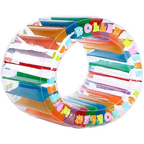 Monsterzeug Zorbing-Rad für Kinder, Aufblasbarer Zorb-Ball zum Spielen, Lauf-Rad zum Aufblasen, Outdoor-Spielzeug