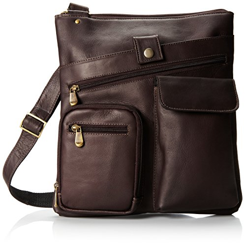david-king-co-multi-pocket-cross-bag-cafe-one-size