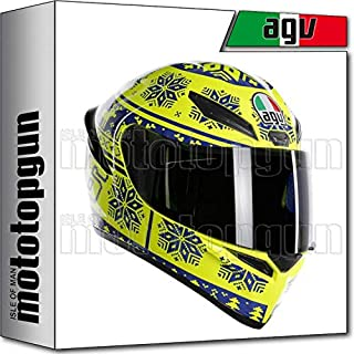 MOTOTOPGUN AGV 210281A0I0-001 Helm INTEGRALE K1 K-1 TOP WINTER TEST 2015 XL