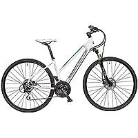 Claud Butler-Explorer 500 Explorer da bicicletta, da donna, colore: bianco