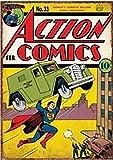 Superman Armoured Car Targa Acciaio