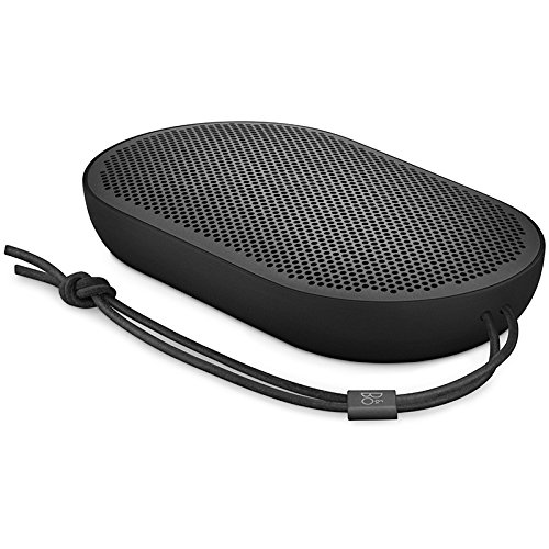 Altoparlante Bluetooth portatile Beoplay P2 di B&O PLAY by Bang & Olufsen con microfono incorporato, Nero