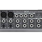 Behringer 802 8 Input 2 Bus Mixer