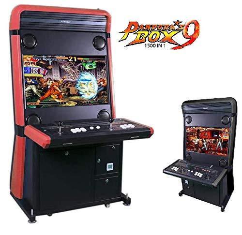 """Theoutlettablet@ - Maquina Arcade recreativa Retro con Pantalla LCD 32"""" - Pandora Box 9 con 1500 Juegos"""