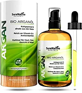 bio argan l 100ml f r haare haut gesicht argan oil. Black Bedroom Furniture Sets. Home Design Ideas