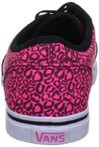 Vans Atwood Low, Damen Skateboardschuhe Pink (Neon Pink/Black)