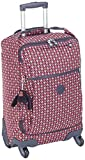 Kipling DARCEY Hand Luggage, 55 cm, 30 liters, Multicolour (Pink Chevron)