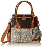 Babymoov A043580 Wickeltasche Style Bag Dotwork, schwarz