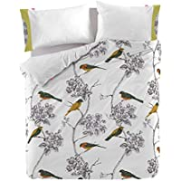 Happy Friday Spring Birds Funda NORDICA 260x240 [ Cama 180 ]