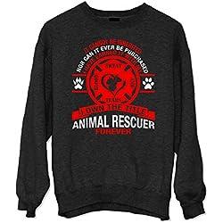 Tierrettung Forever Sweatshirt Schwarz Large