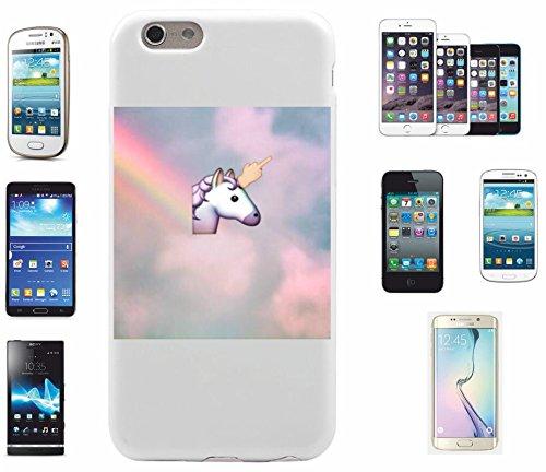 """Preisvergleich Produktbild Smartphone Case LG G5 """"Pferde bzw. Einhorn Kopf von den Emojis Lustig """", der wohl schönste Smartphone Schutz aller Zeiten."""