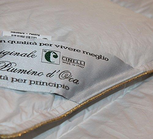 best website fa88f b7e18 CINELLI 100% PIUMINO D' OCA SIBERIANO ULTRA BIANCO ICEBERG ...